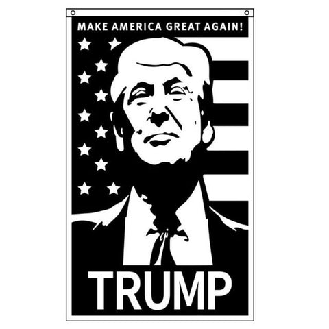 Image of Trump 2020 Keep America Great Election Flags