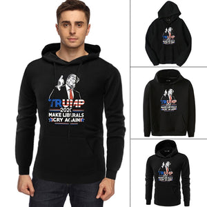 Trump 2020 Make Liberals Cry Again Black Hoodies