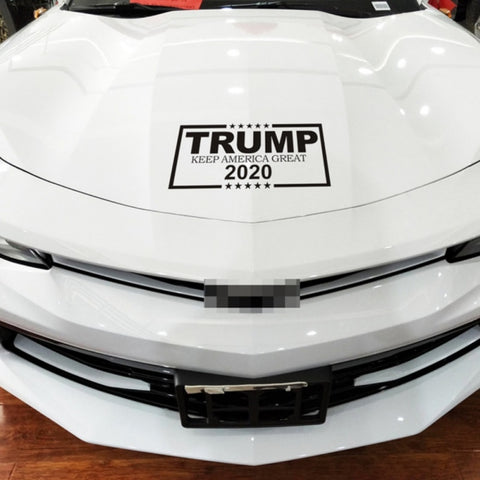 Image of TRUMP 2020 Keep America Great Black & White Decal