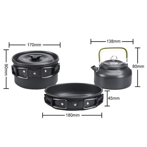 Image of Ultra-Light Portable Survival Cooking Set