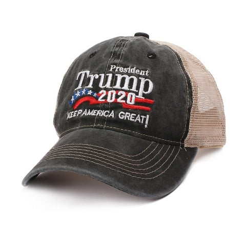 Image of President Trump 2020 Keep America Great Trucker Hat