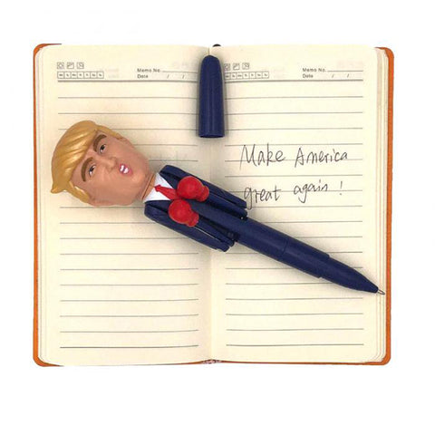 Image of President Donald Trump MAGA Talking Pen