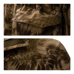 Tactical Waterproof Windbreaker Camo Jacket