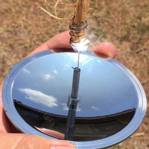 Image of Survival Waterproof & Windproof Solar Fire Starter