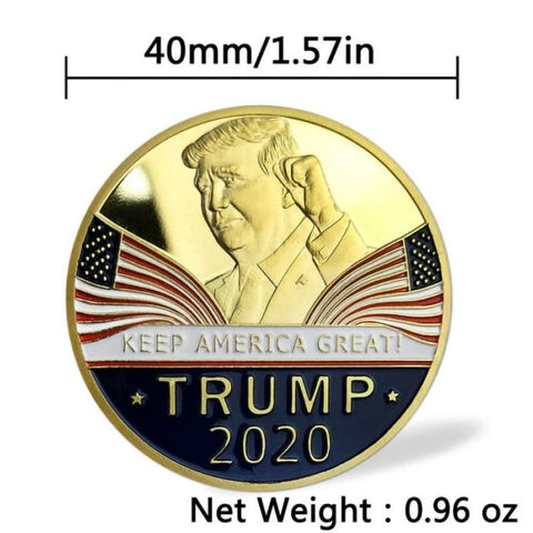 Image of Commemorative Coin President Trump 2020