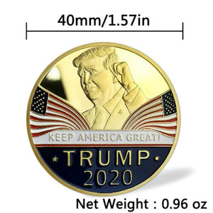 Commemorative Coin President Trump 2020
