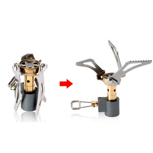 Survival Titanium Alloy Folding Mini Stove Burner