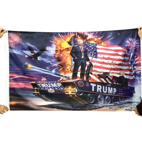 Image of Support Trump 2020 Election Flags