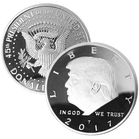 Image of President Donald J. Trump Collectible Coins