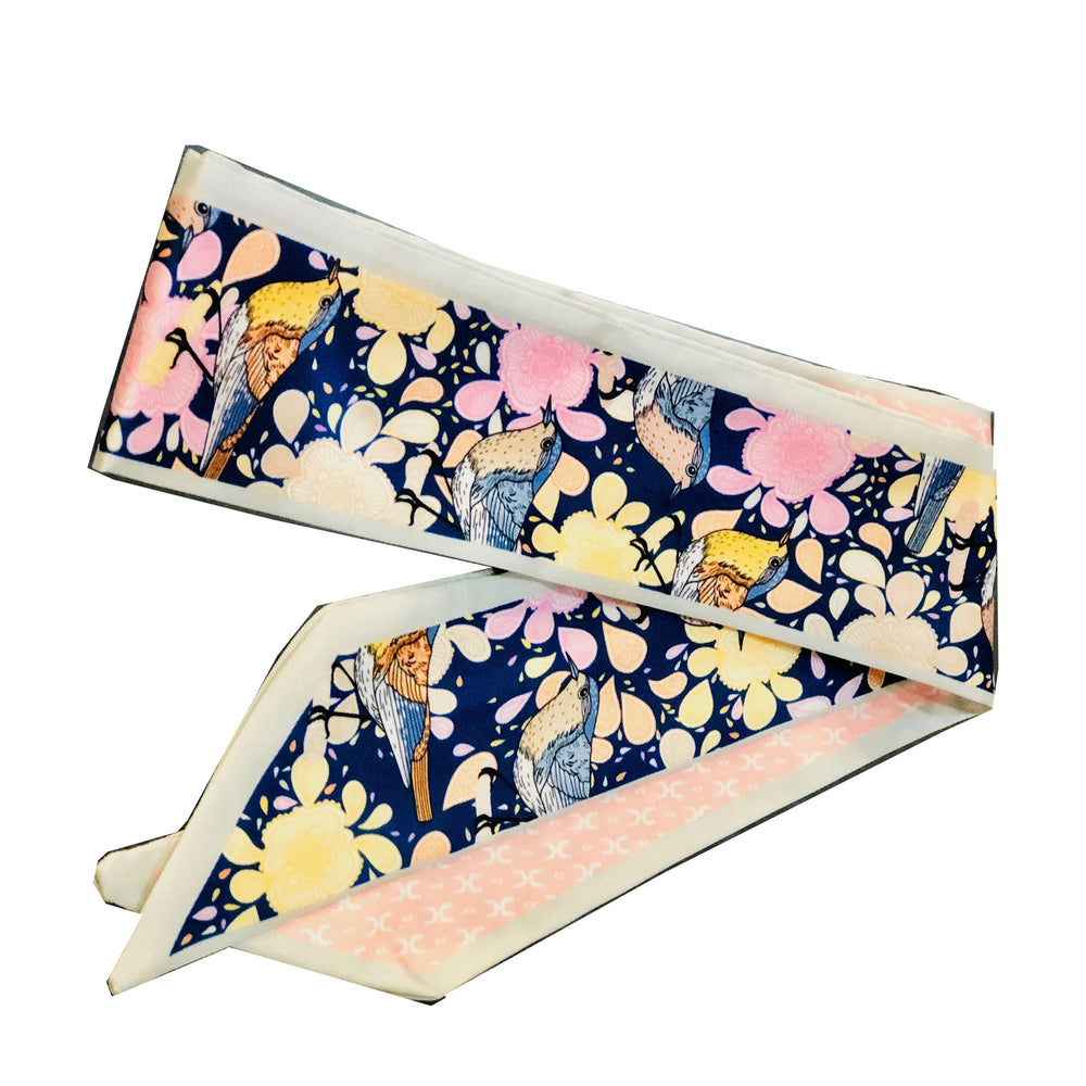 Load image into Gallery viewer, springtime wrap - be clear handbags