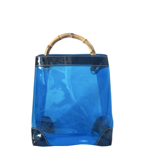 the capri tote - be clear handbags
