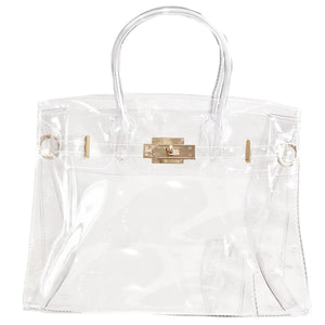 Load image into Gallery viewer, the hampton - be clear handbags