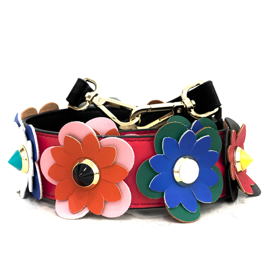 Load image into Gallery viewer, garden party strap - be clear handbags