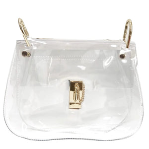 the hadley - be clear handbags
