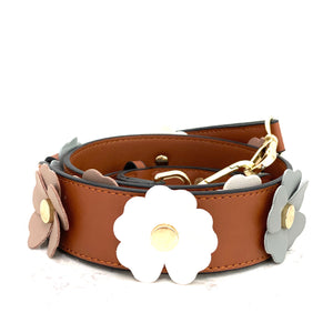 boho flower strap - be clear handbags