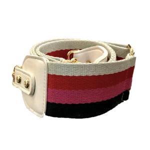 cabana stripes - be clear handbags