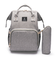 Load image into Gallery viewer, Nomadic Baby®: The USB changing Backpack