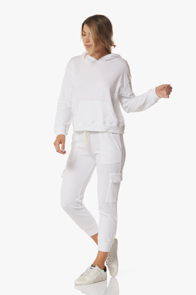 Rachel Sweatpants, White - With Love, MILA