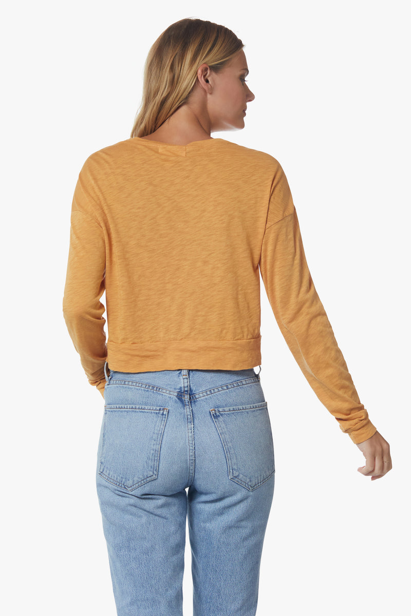 Rosie Long Sleeve, Gold - With Love, MILA