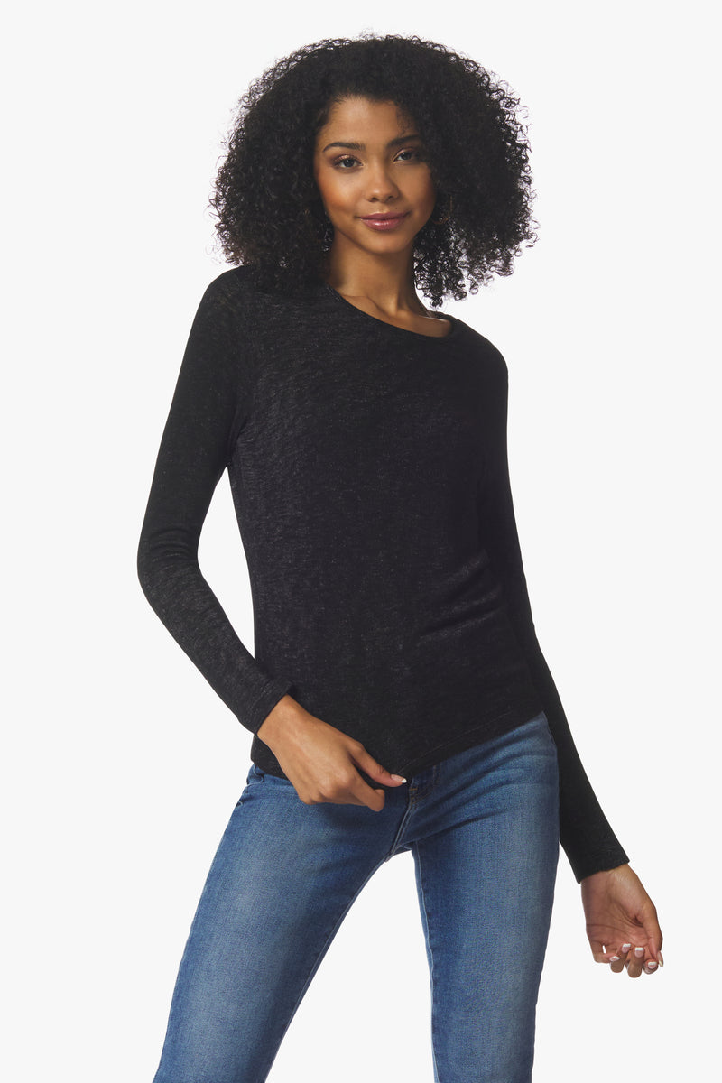 Stars Long Sleeve, Black - With Love, MILA