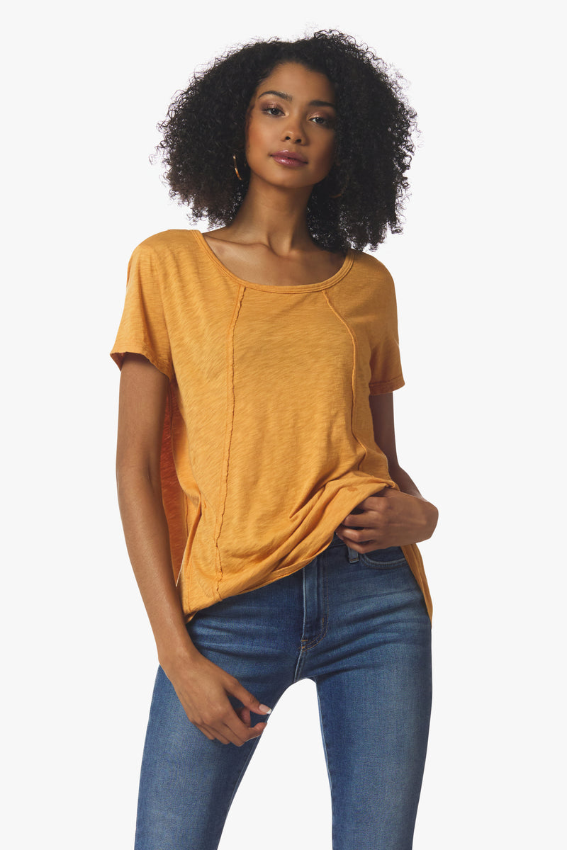 Veronica Tee, Gold - With Love, MILA
