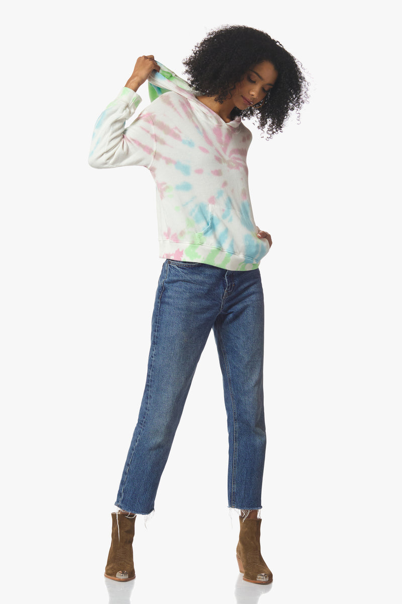 Sara Pullover Hoodie, Tie Dye - With Love, MILA