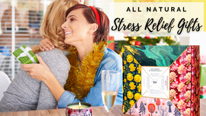 All Natural Stress Relief Gifts Candle Gift Sets For Women Natural Stress Relief Candles Scented Glass Candles For Home Candles For Office Indoor Candles Outdoor Candles Long Lasting Scented Candles For Relaxation Calming Candles For Women Best Gifts