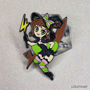 Jupiter Witch (Enamel Pin)