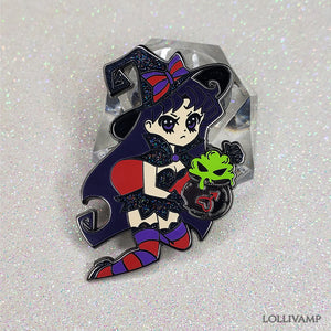 Mars Witch (Enamel Pin)
