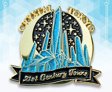 Load image into Gallery viewer, Crystal Tokyo Tours (Enamel Pin)