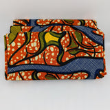 African Print Headwrap-Ancient