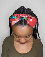 Red Cotton Headband