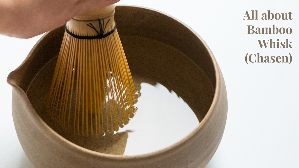 How to whisk Matcha with a Matcha whisk