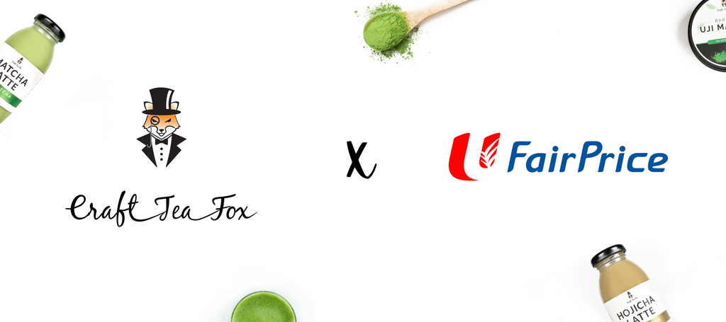 Craft Tea Fox x FairPrice Online: How to Order
