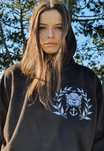 Load image into Gallery viewer, Legion Black And White 2021 Hoodie Womens