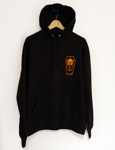 OHAN Hoodie Black Orange