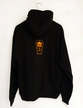 Load image into Gallery viewer, OHAN Hoodie Black Orange Womens