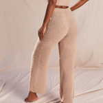 Load image into Gallery viewer, Fluffy Flared Pant Set in Sand