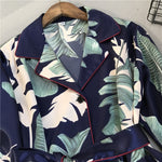 Load image into Gallery viewer, Benny Belted Pyjamas in Tropic Palm