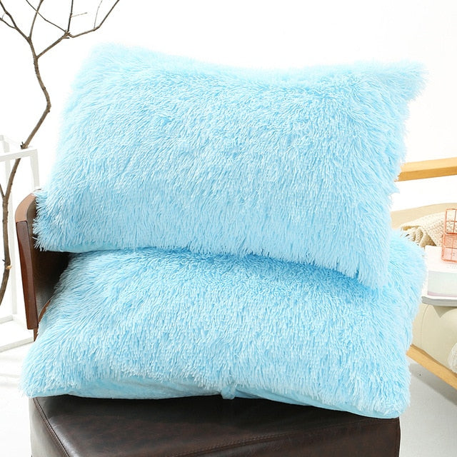 Fluffy Pillow Case