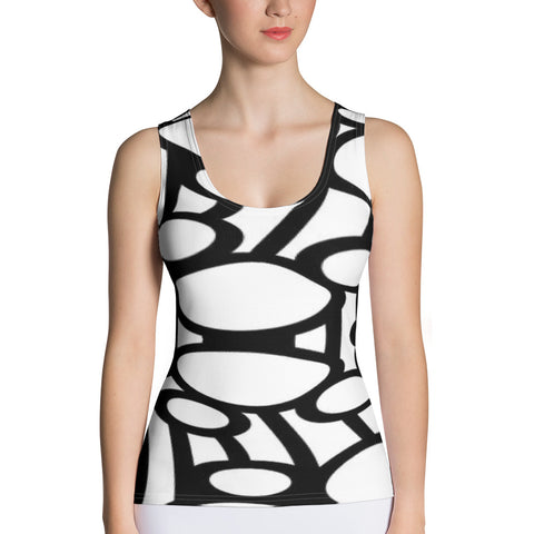Sublimation cut /u0026 sew tank top
