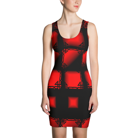 Sublimation cut /u0026 sew dress