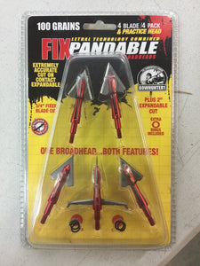 100 grain FIXpandable Broadhead (5 pack) + FREE SHIPPING!