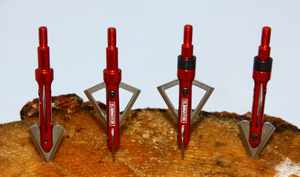 85/100 grain ELIMINATOR Broadheads (4 PACK) + FREE SHIPPING!