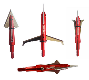 30+ piece VALUE PACK 100 grain FIXpandable Broadheads + FREE SHIPPING!