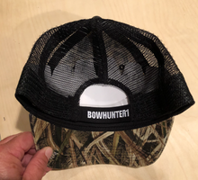 Load image into Gallery viewer, BOWHUNTER1 Camo Cap with mesh back