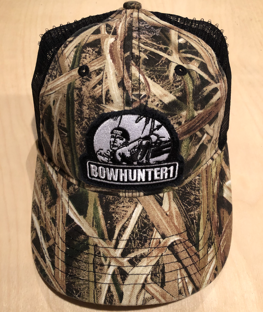 BOWHUNTER1 Camo Cap with mesh back