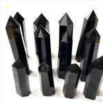 Natural Obsidian quartz crystal
