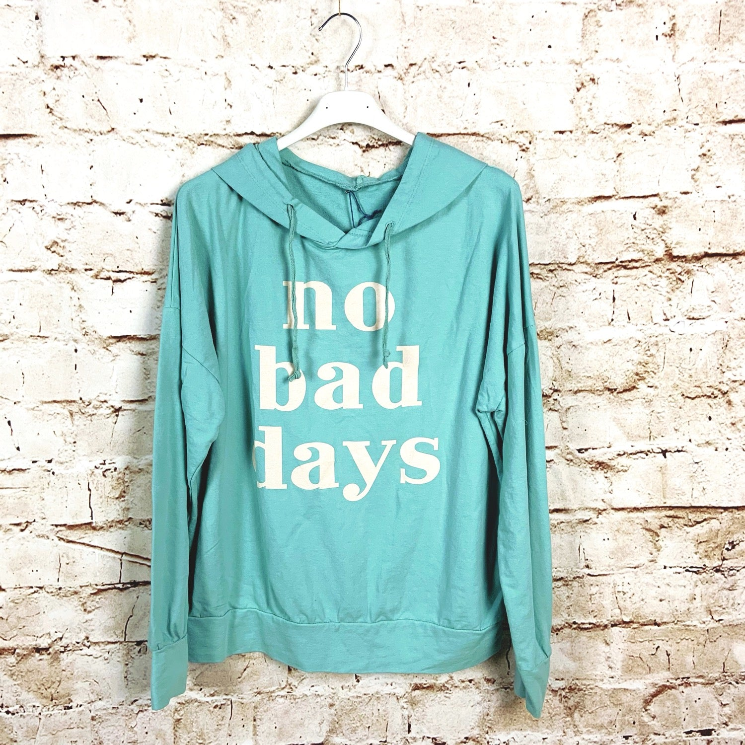 Sudadera No bad days
