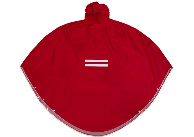 The People`s Poncho in Rot
